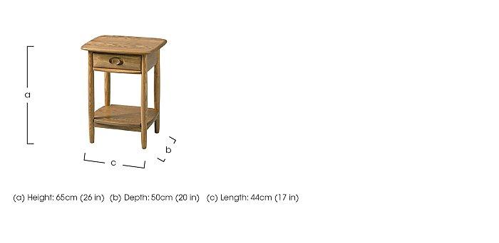 Windsor Lamp Table in  on Furniture Village