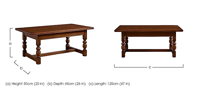 Old Charm Coffee Table in  on Furniture Village