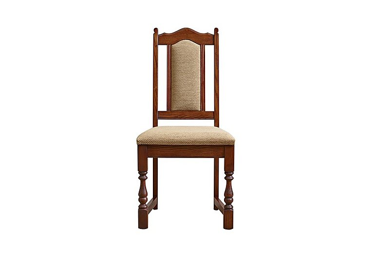 Old Charm Dining Chair in Chestnut Traditional on Furniture Village