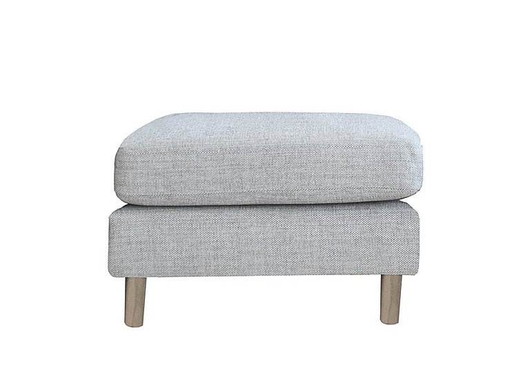 Triggiano Footstool in T311   Clear Matt Only on Furniture Village