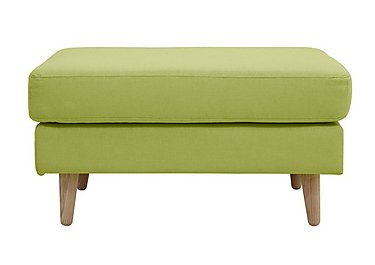 Alva Fabric Footstool in  on Furniture Village