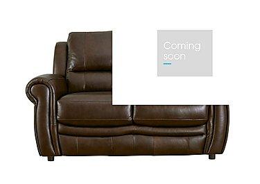Arizona 2 Seater Leather Recliner Sofa in Go/S 182e Sequoia on Furniture Village