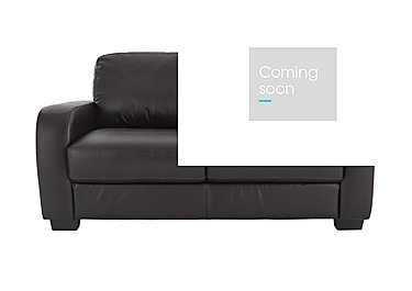 Astor 2 Seater Leather Sofa in Go-174e Mahogany on Furniture Village
