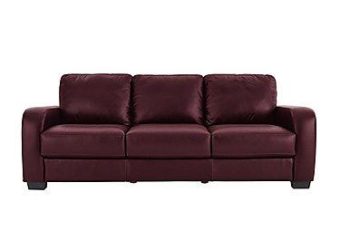 Red sofas everything reduced furniture village for Furniture village sale