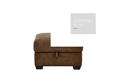 Astor Fabric Storage Footstool in Bfa-Blj-R05 Hazelnut on Furniture Village