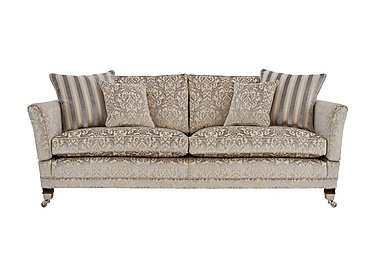 Berkeley 2.5 Seater Fabric Sofa in Fairweather Mother Of Pearl on Furniture Village