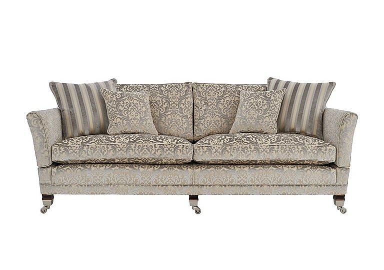 Berkeley 4 seater fabric sofa duresta furniture village for Furniture village sofa