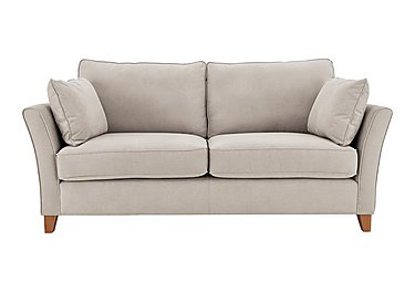 High Street Bond Street 3 Seater Fabric Sofa in Issy Stone on Furniture Village