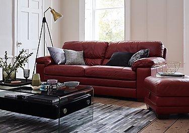 Carolina 2 Seater Leather Sofa in  on Furniture Village