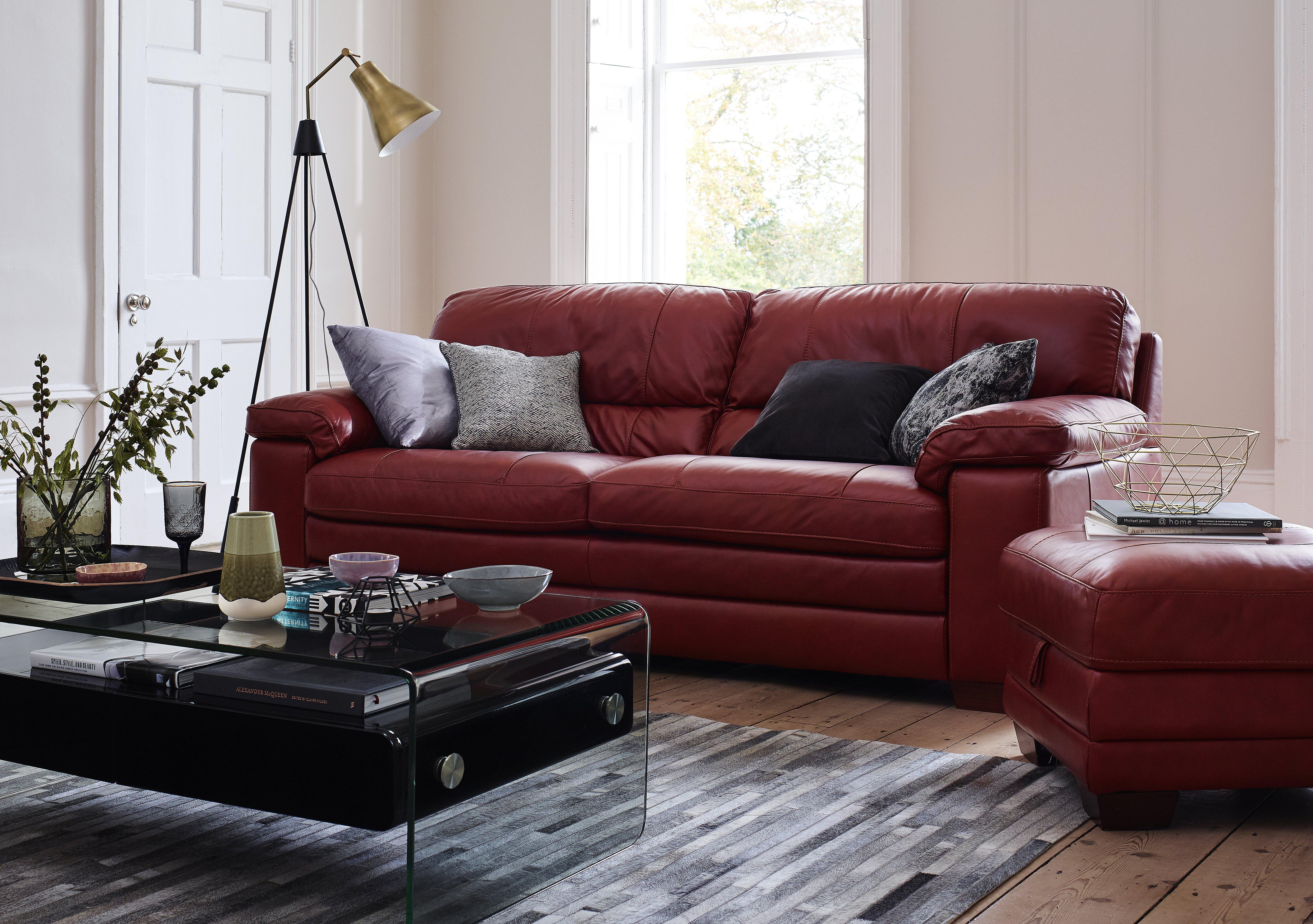 Carolina 2 Seater Leather Sofa World of Leather Furniture Village
