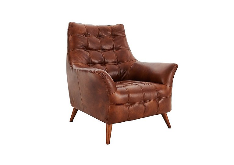 chaser leather armchair - furniture village
