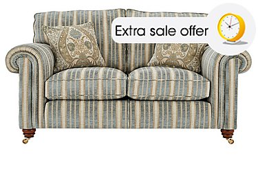 Blue 3 seater sofas three seater sofa beds furniture for Furniture village sale