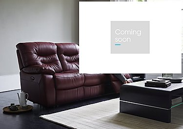 Relax Station Cozy 3 Seater Leather Recliner Sofa in  on Furniture Village
