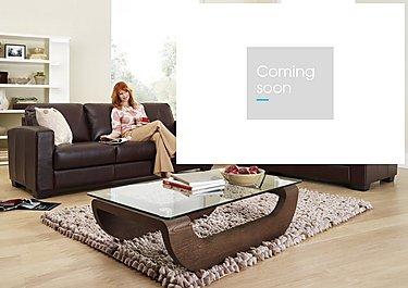 Dante 2 Seater Leather Sofa in  on Furniture Village