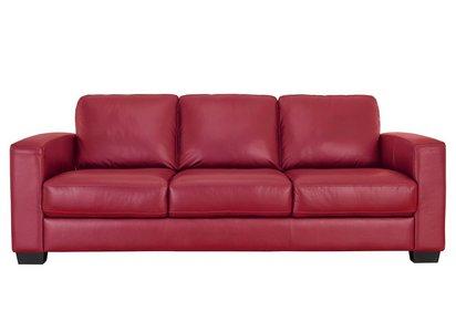 Terrific Dante 3 Seater Leather Sofa Home Interior And Landscaping Ponolsignezvosmurscom