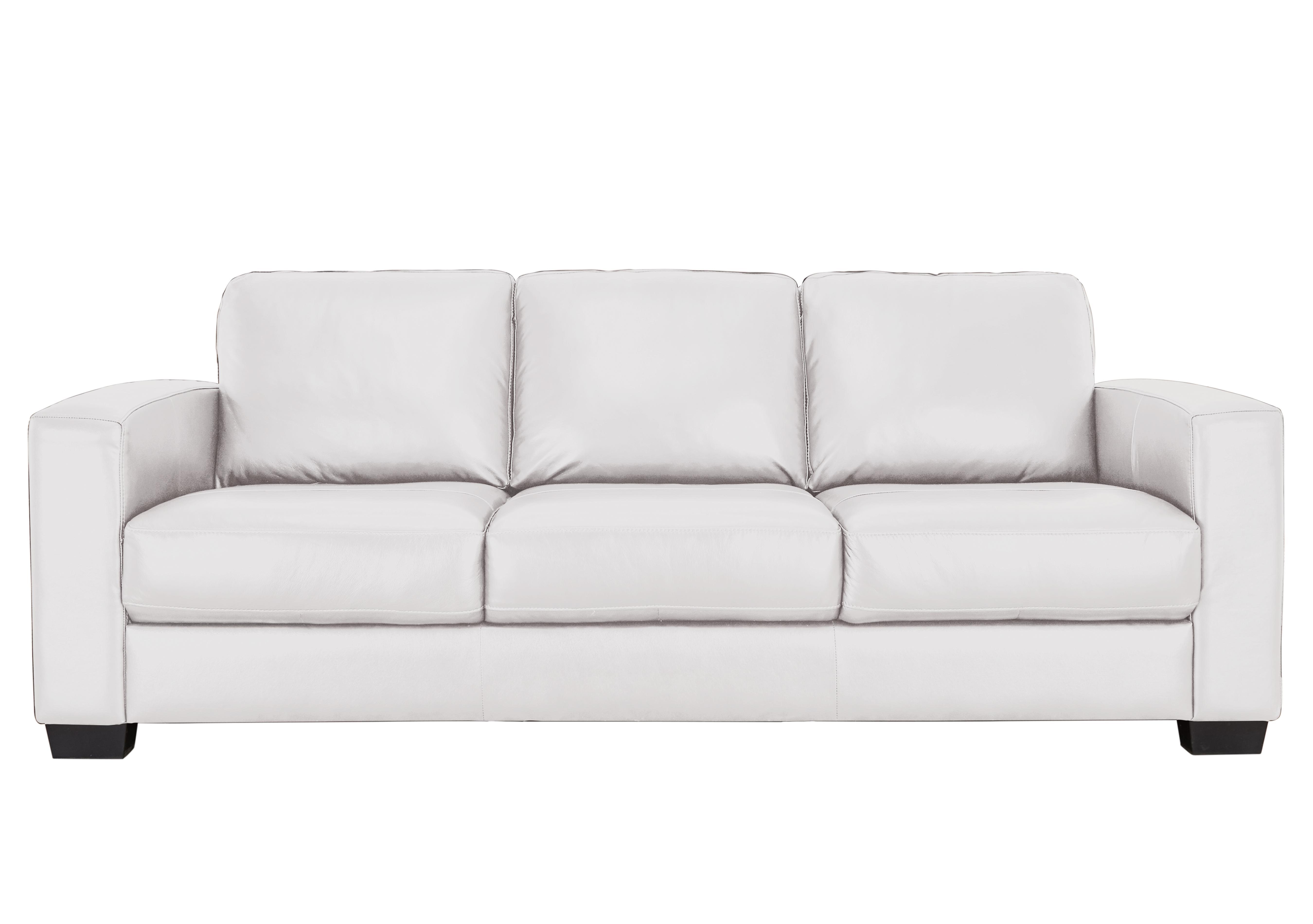 Save £100. Dante 3 Seater Leather Sofa
