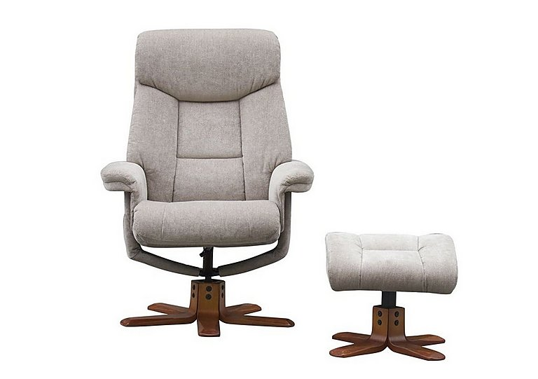 Exmouth Fabric Recliner Armchair in  on Furniture Village
