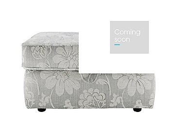 Florence Fabric Storage Stool in C650 Harmony Powder on Furniture Village