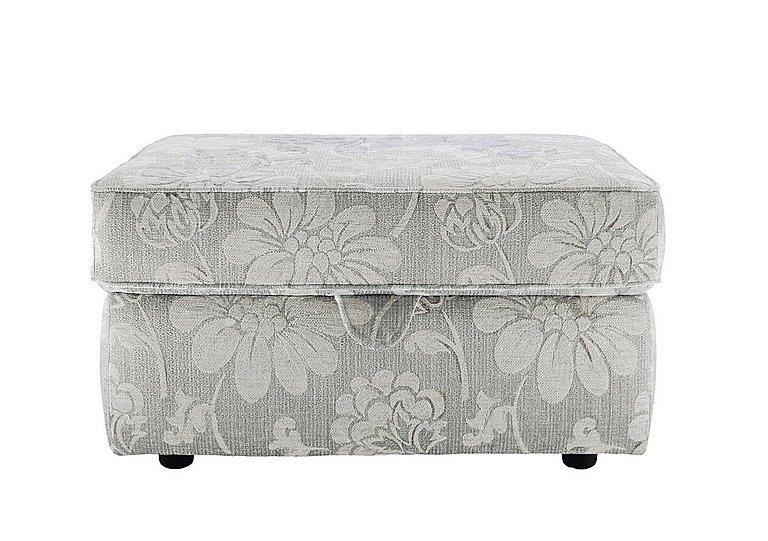 Florence Fabric Storage Stool in C650 Harmony Powder on Furniture Village