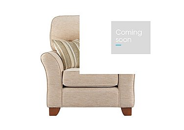Gemma Fabric Armchair in A071 Boucle Oyster on Furniture Village