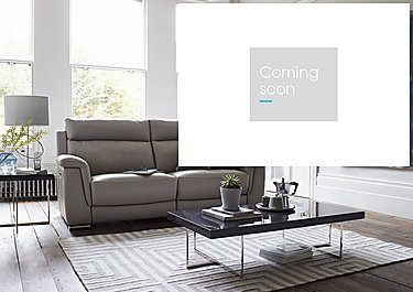 Glider 3 Seater Leather Recliner Sofa in  on Furniture Village