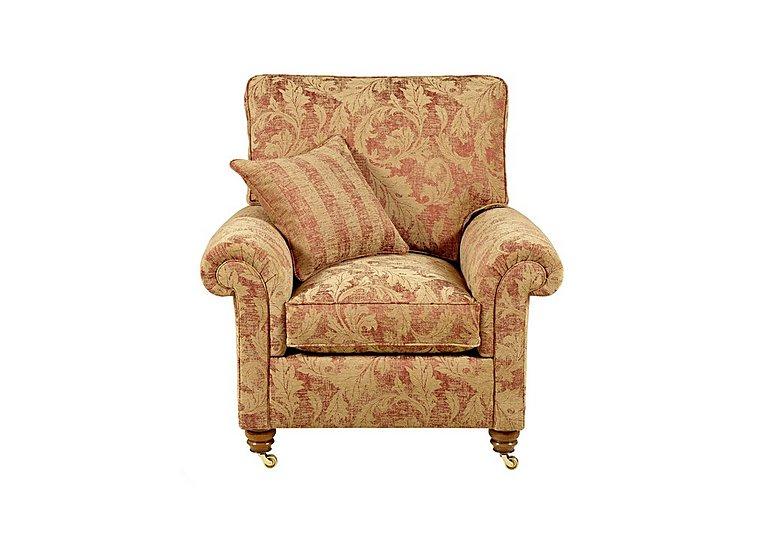 Hamilton Fabric Armchair in Rhapsody - Russet Sand on Furniture Village