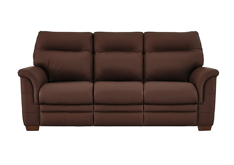 hudson 3 seater leather recliner sofa parker knoll furniture village. Black Bedroom Furniture Sets. Home Design Ideas
