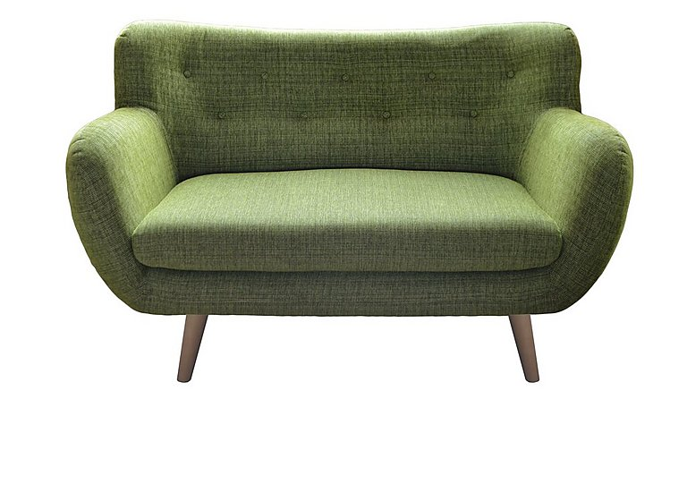 Jasper 2 Seater Fabric Sofa in Lemans 1070 Lime on Furniture Village