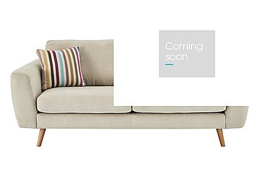 Jenson 3 Seater Fabric Sofa in Grd-34 Bisque Graceland on Furniture Village