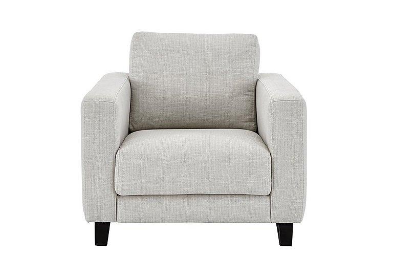 Kick Fabric Armchair in Cossette 243 Agean Dark Feet on Furniture Village