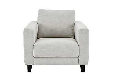 Kick Fabric Armchair in Cossette 243 Agean Dark Feet on Furniture Village