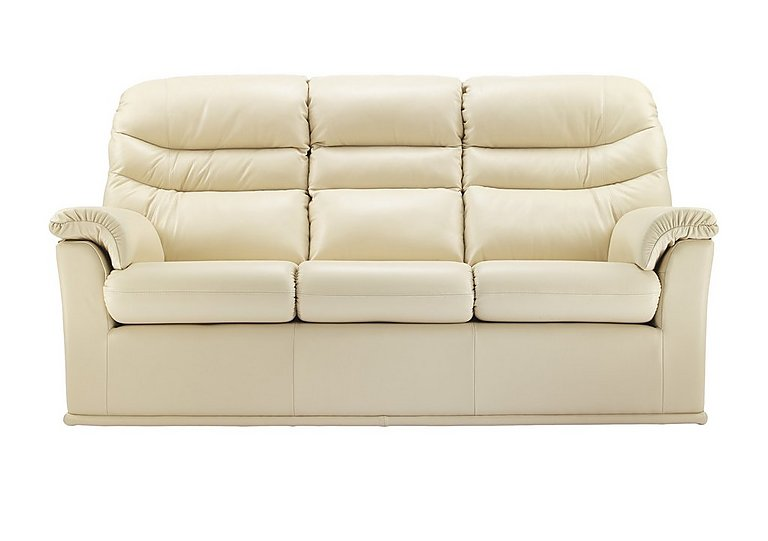 Malvern 3 Seater Leather Recliner Sofa