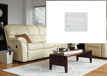 Mistral 3 Seater Leather Recliner Sofa in  on Furniture Village