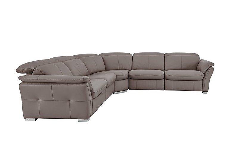 Mustang Leather Recliner Corner Sofa Furniture Village