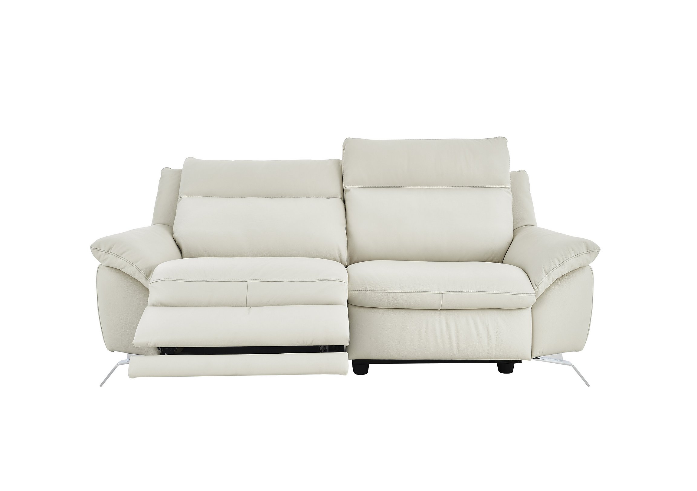chair size large modern natuzzi sectional recliner italian white leather full of sofa blue