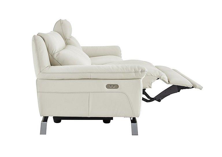 Napoli 3 Seater Leather Recliner Sofa