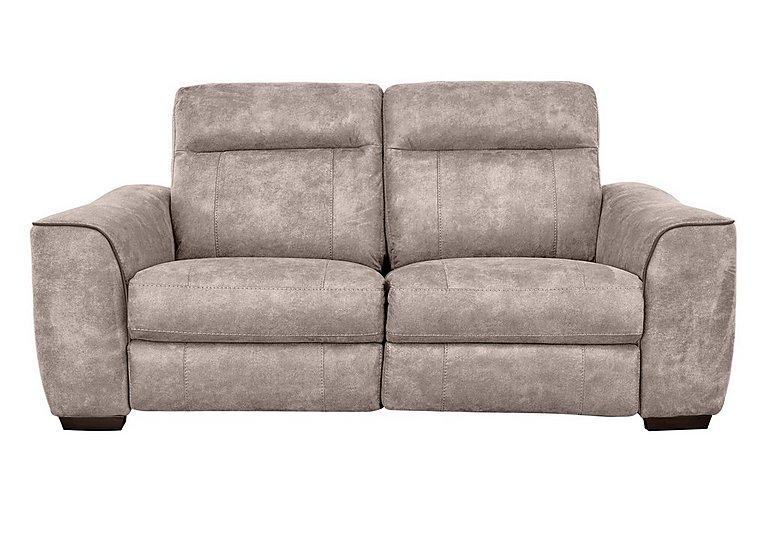 fabric recliner sofa. Paloma 3 Seater Fabric Recliner Sofa L