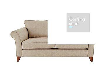 High Street Regent Street 2 Seater Fabric Sofa in Kentmere Putty on Furniture Village