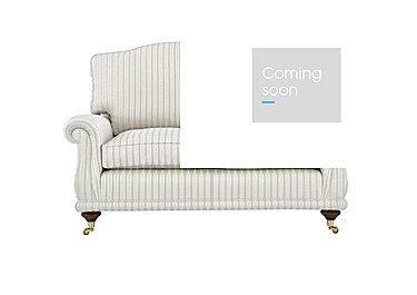 DG Sandringham 2 Seater Fabric Sofa in Pendragon Stripe Oyser Dis Wal on Furniture Village