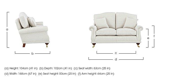 DG Sandringham 2 Seater Fabric Sofa in  on Furniture Village