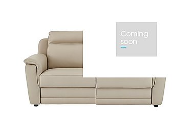 Tara 2.5 Seater Leather Recliner Sofa in 352 Fango on Furniture Village