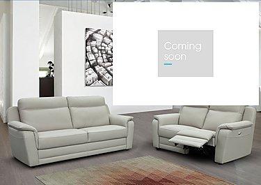 Tara 2.5 Seater Leather Recliner Sofa in  on Furniture Village