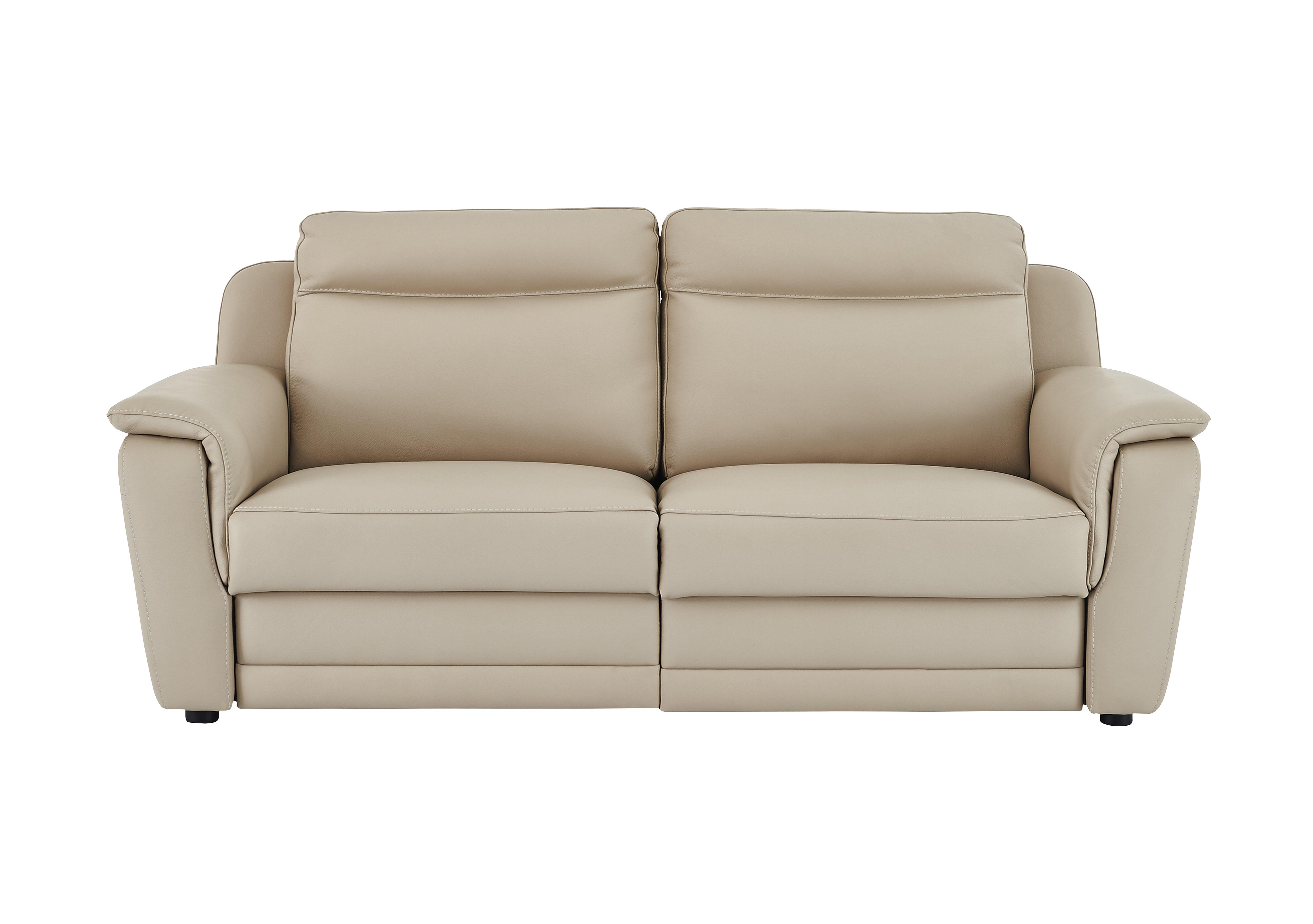 Tara 3 Seater Leather Recliner Sofa Nicoletti Furniture Village