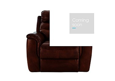 Tennessee Leather Recliner Armchair in 220/56 V Coll Chestnut on Furniture Village