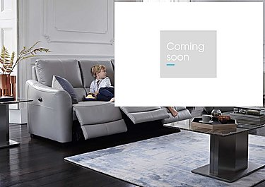 Trilogy 2 Seater Leather Recliner Sofa in  on Furniture Village