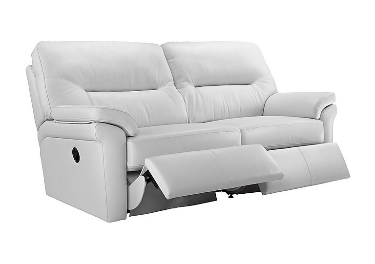 Merveilleux Washington 3 Seater Leather Recliner Sofa