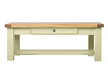 Bordeaux Painted Oak Coffee Table in Natural Monocoats on Furniture Village