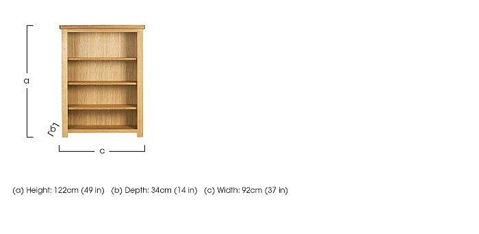 Bordeaux Painted Oak Bookcase in  on Furniture Village