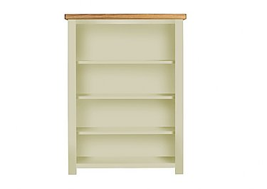 Bordeaux Painted Oak Bookcase in Natural Monocoats on Furniture Village