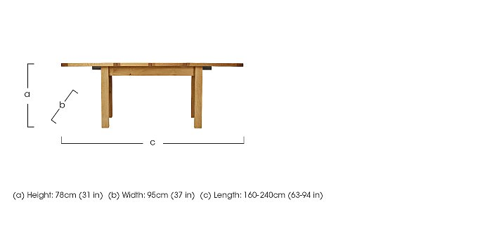 Bordeaux Painted Large Extending Oak Dining Table  : PRODZFRSP000000000005513BordeauxPainted Large Extending Oak Diningdimensionsdimension from www.furniturevillage.co.uk size 700 x 342 jpeg 10kB